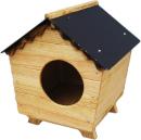 Jara bois niches chien chat des articles de d coration - Plan niche pour chat exterieur ...